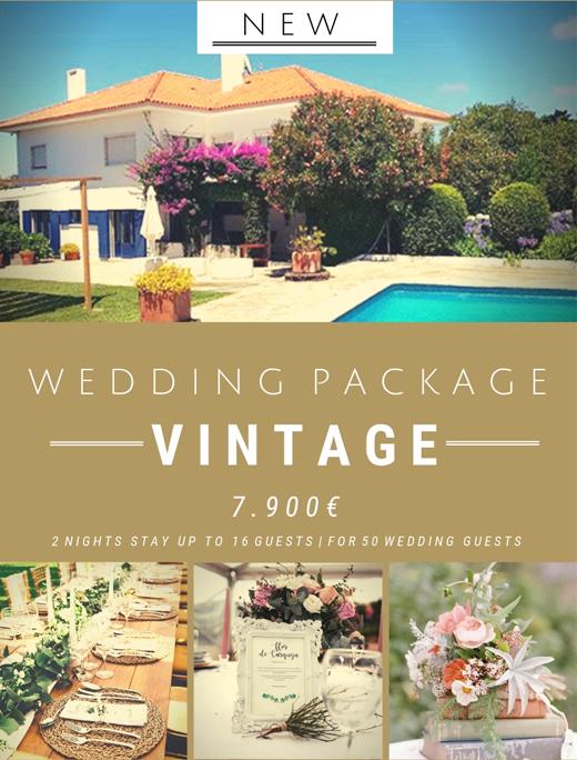 Vintage Wedding Package - Wedding Planner in Portugal