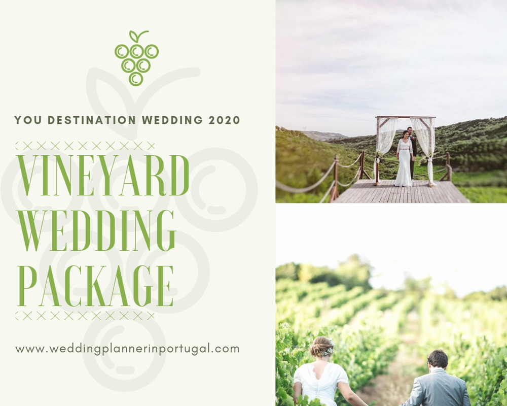 Vineyard Wedding Package 2020