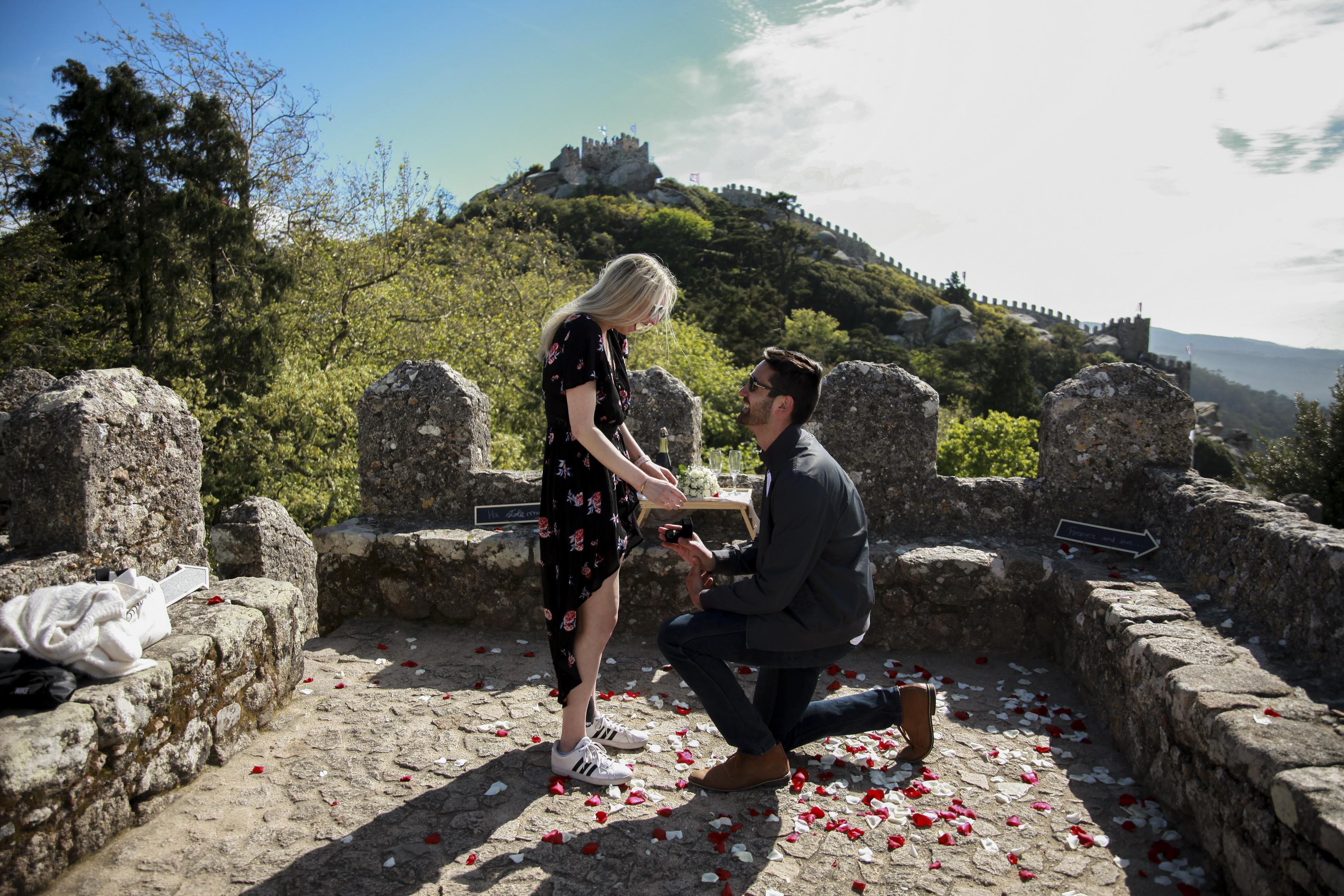 Pedidos de casamento em Portugal