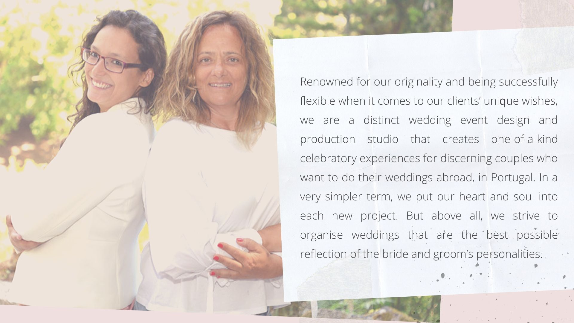 Wedding Planner in Portugal - About UsWedding Planner in Portugal - About Us