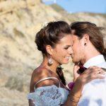 Beach style wedding
