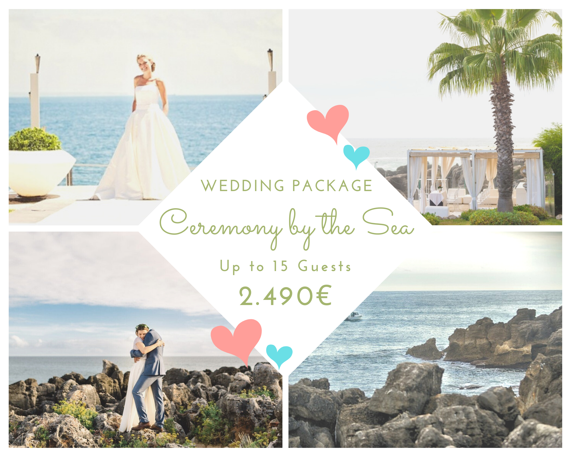 Wedding Package 2021 - Wedding By the Sea