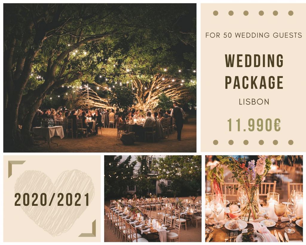 Lisbon Wedding Package