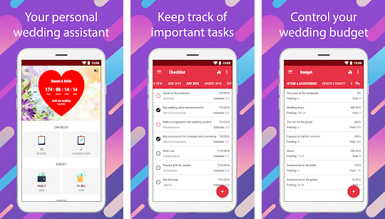 WEDDING PLANNING APPS​