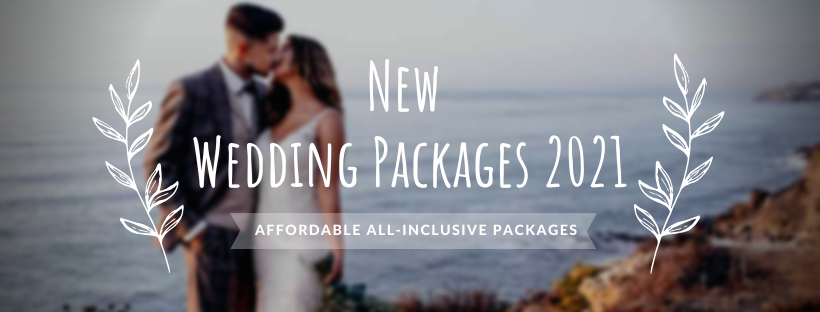 New All-Inclusive Affordable Elopement Wedding Packages 2021