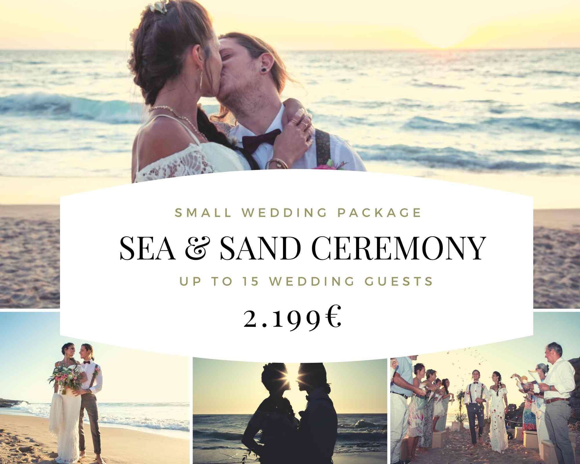 Beach Ceremony Wedding Package 2021
