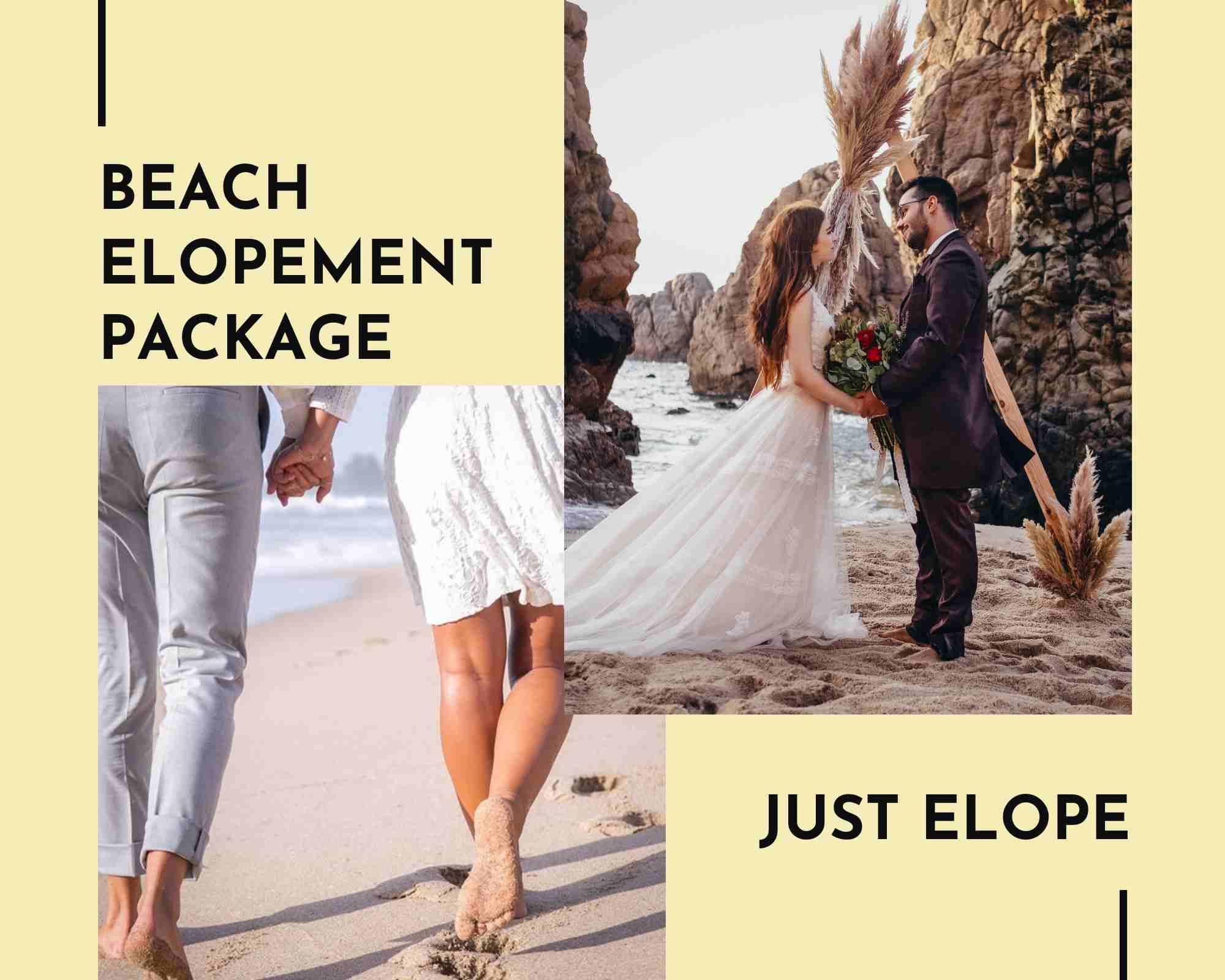 Elopement Beach Package 2021