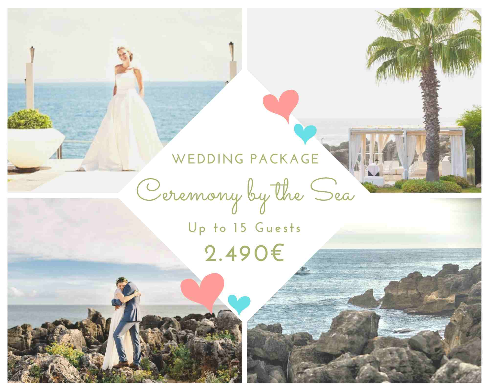Oceanfront Wedding Package 2021