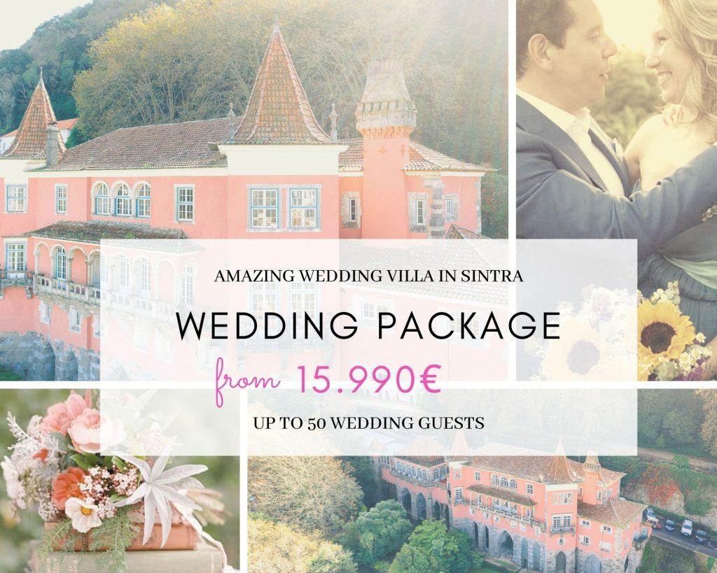 Wedding Package - Casa dos Penedos