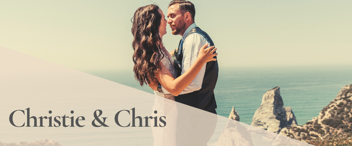 Christie & Chris Elopement by the Sea