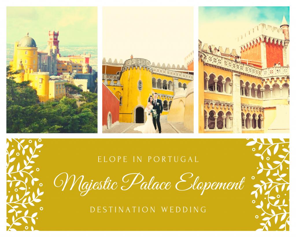 Elopement Pena Palace Sintra