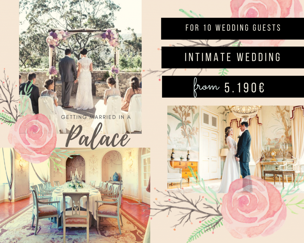 Seteais Palace Mini Wedding Package