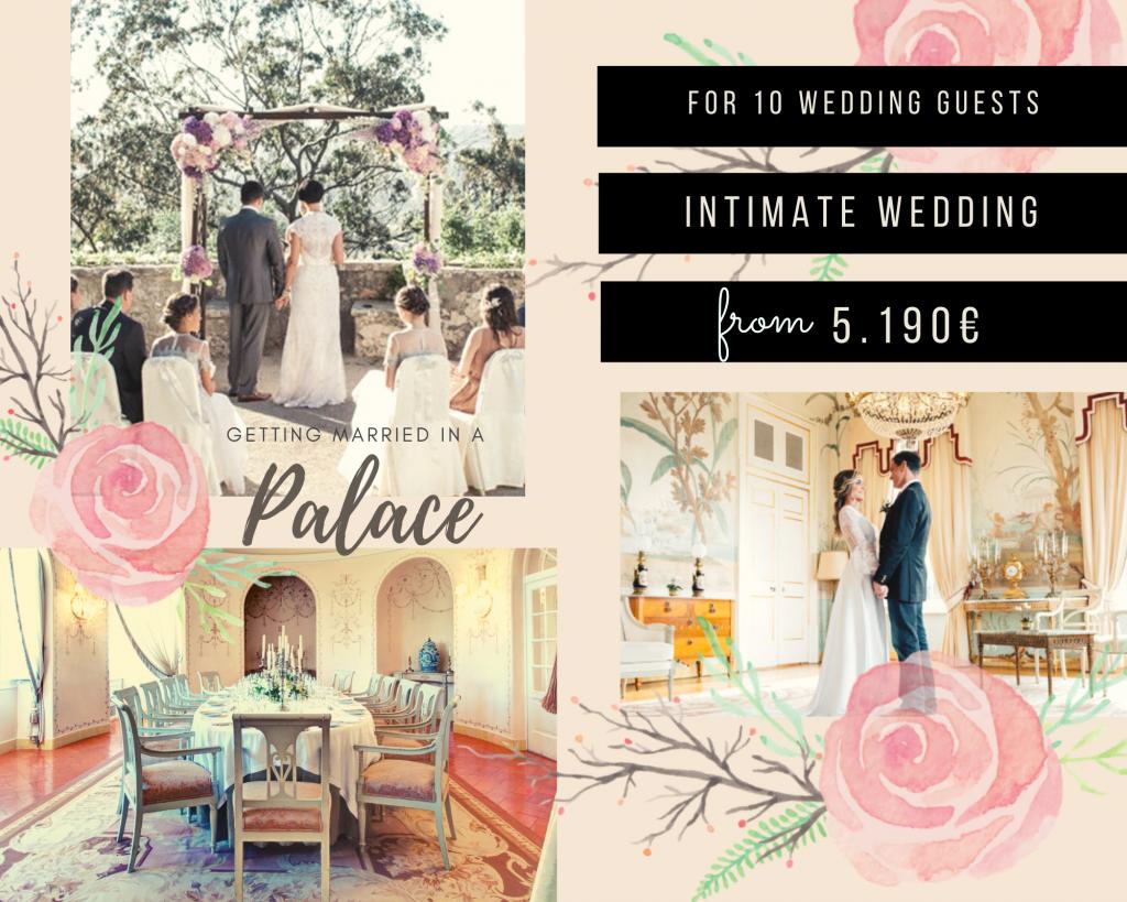 Seteais Palace Mini Wedding Package