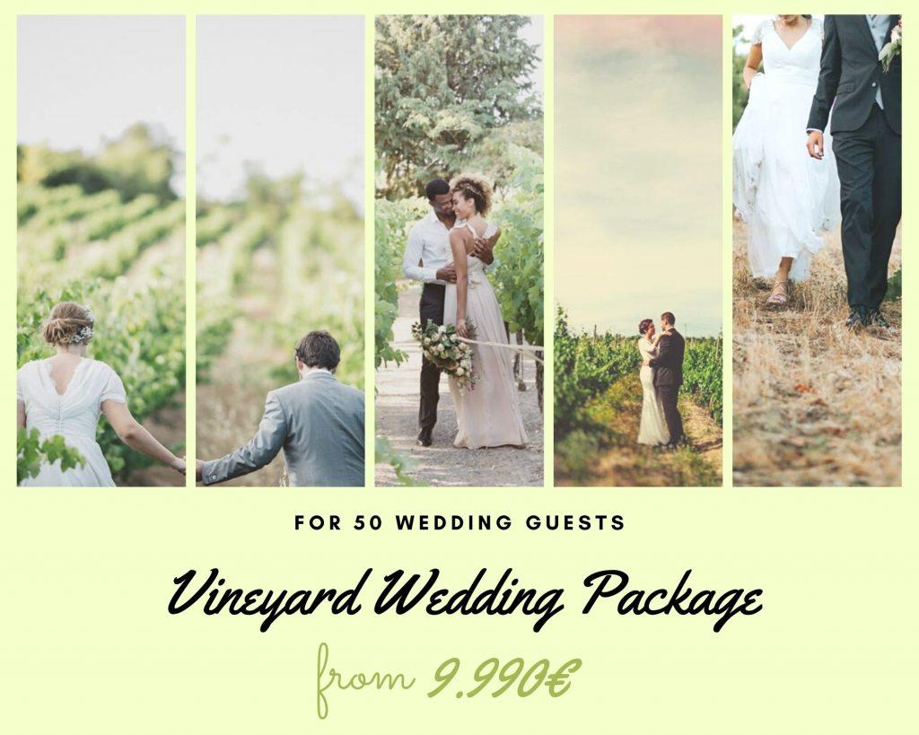 Vineyard Wedding Package