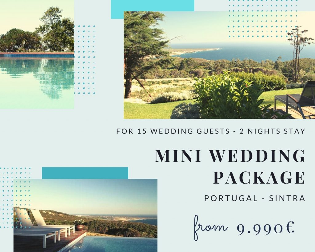 Mini Wedding with accomodation Sintra Package