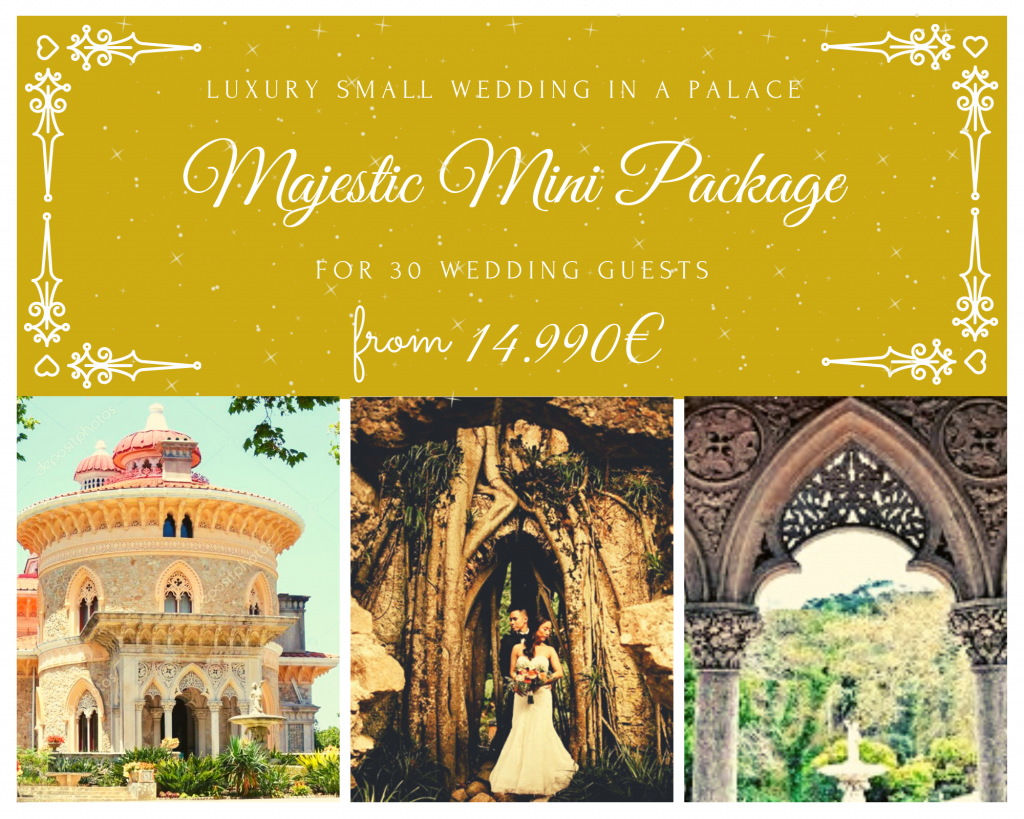 Monserrate Palace Mini Wedding Package_