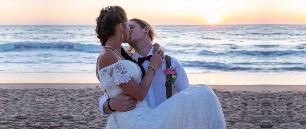 Beach Wedding in Portugal_Beach Ceremony