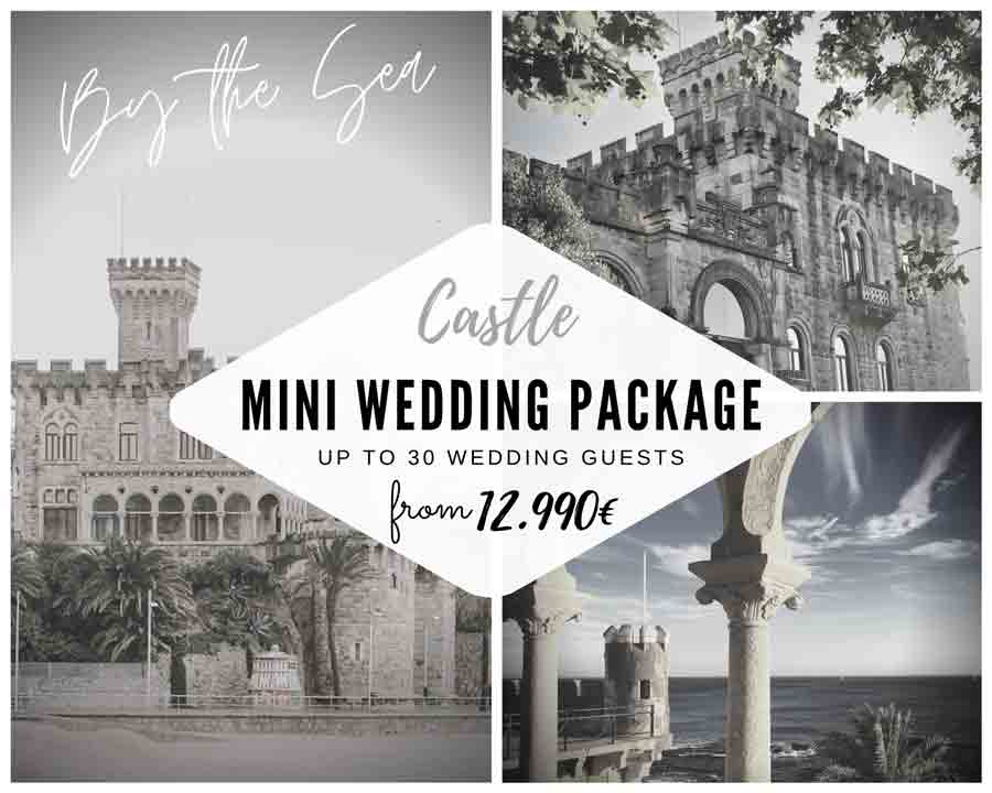 Mini Wedding Package in Castle