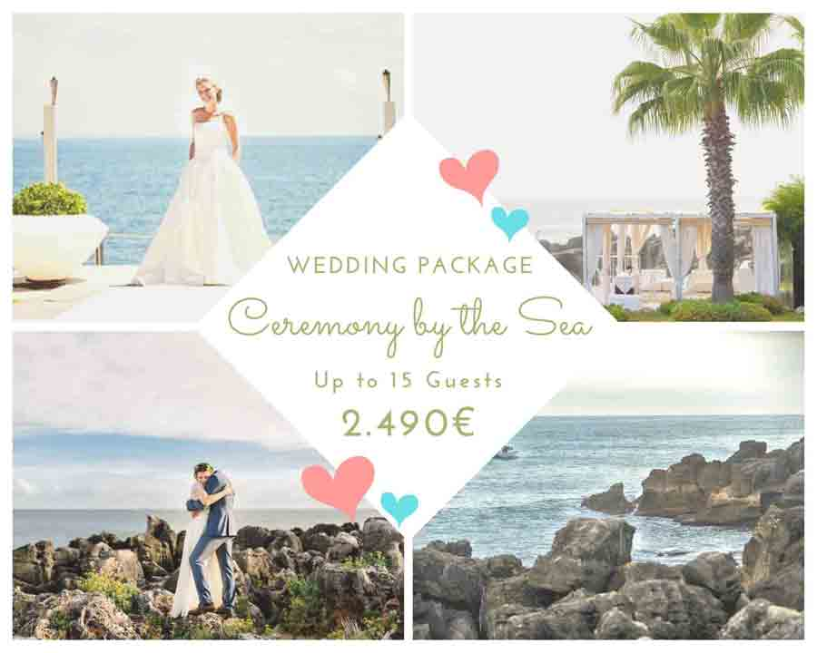 Oceanfront Wedding Package Wedding Ceremony in Porrtugal