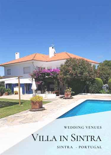 Sintra Wedding Venues_Private Villa Wedding Venue