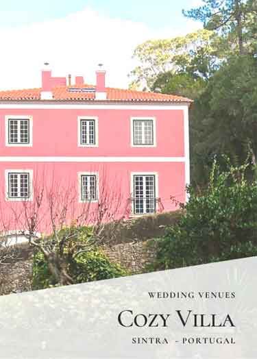 Sintra Wedding Venues_Private Villa Wedding Venues