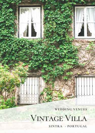 Vintage Wedding Venues_Private Villa Sintra Wedding Venue