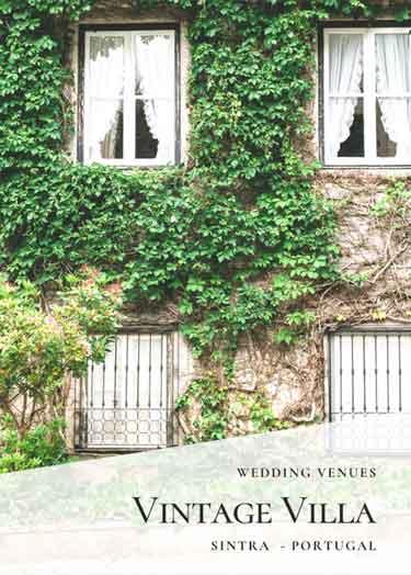Vintage Wedding Venues_Private Villa Sintra Wedding Venue