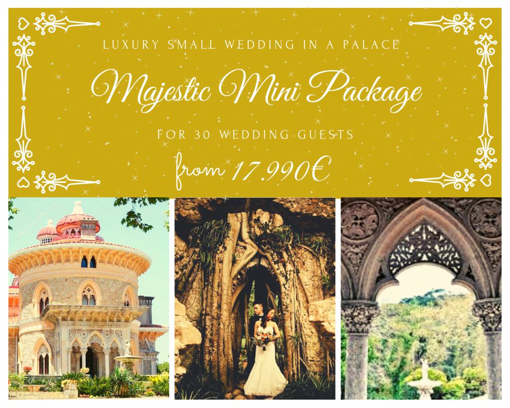 Monserrate Palace_Pacote Mini Casamento
