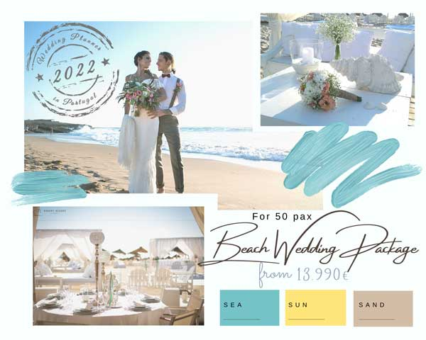 Beach Wedding Package 2022