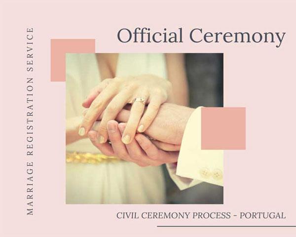 Casamento Civil_Pacote Servico Registo Civil - Organizacao Casamentos Portugal