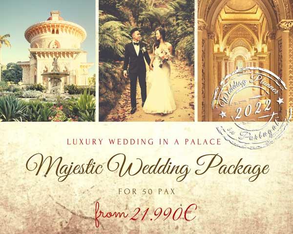 Monserrate Palace Wedding Package 2022