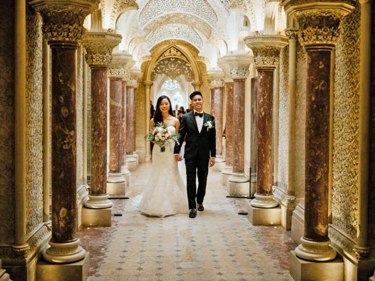 Monserrate Palace Wedding Venue Sintra - Wedding Planner in Portugal