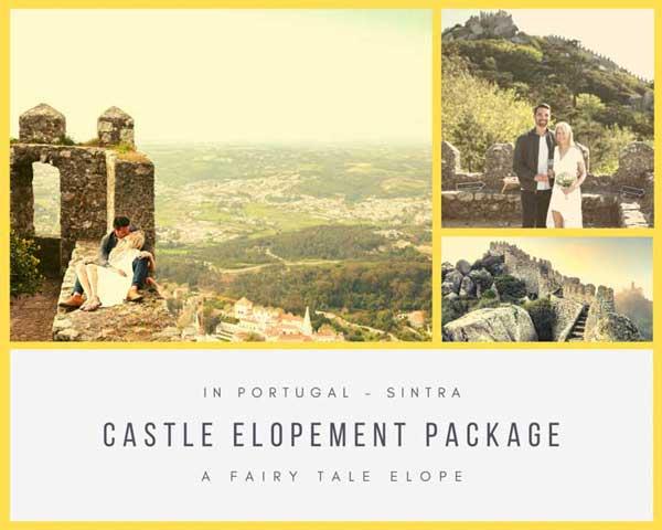 Pacote Casamento a Dois Castelo dos Mouros Sintra_Organizacao Casamentos Portugal