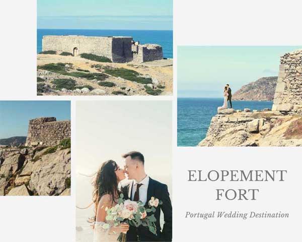 Pacote Casamento a Dois num Forte a Beira Mar_Organizacao Casamentos Portugal