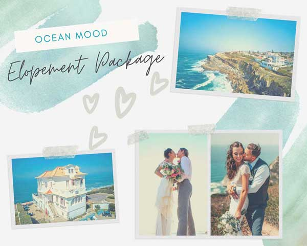 Villa By The Sea Elopement Package - Wedding Planner in Portugal