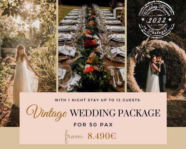 Vintage Wedding Packages 2022_